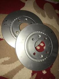 Pagid front brake disc