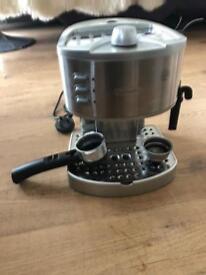 De Longhi EC 330.S - Espresso Machine - Cappuccino Coffee- Silver