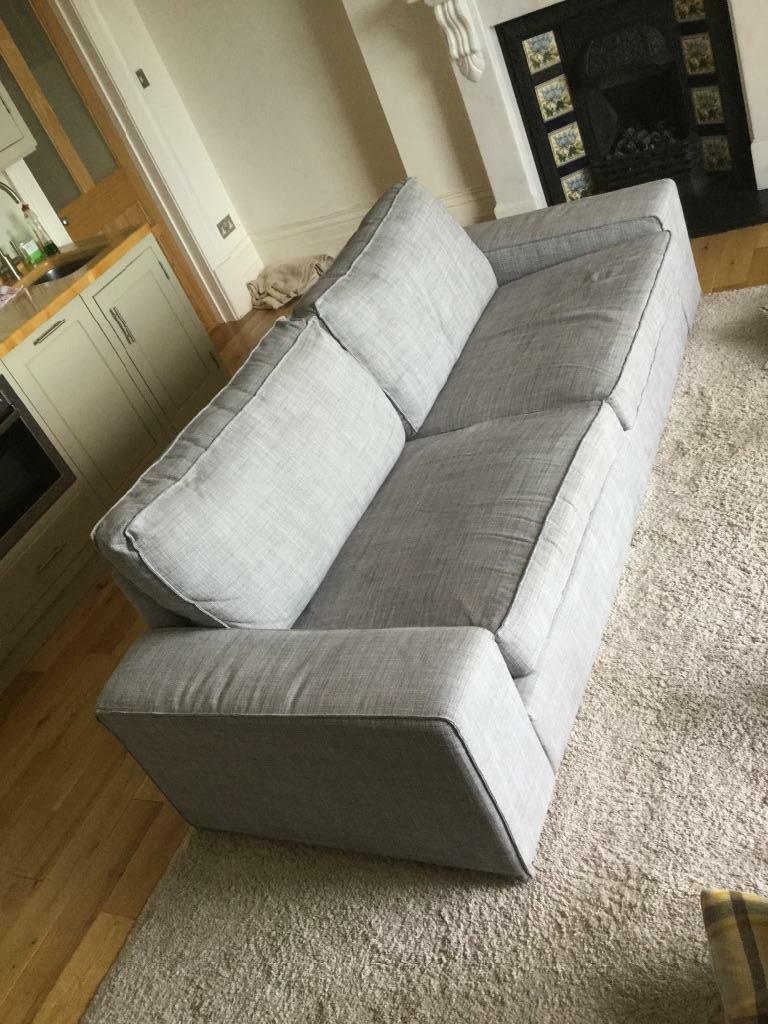 ikea kivik sofa in isunda grey large in clifton bristol gumtree. Black Bedroom Furniture Sets. Home Design Ideas