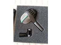 AKG D 112 MICROPHONE for Bass OR Bass Drums