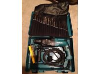 akita HR 2450 Rotary Drill with tool roll