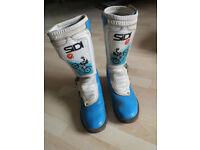 Sidi Motorcycle Boots Size 9/43