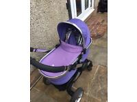 Icandy peach Parma violet carrycot only