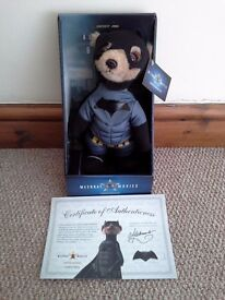 Brand New In Box Official Limited Edition Batman Meerkat Toy with Certificate of Authentication