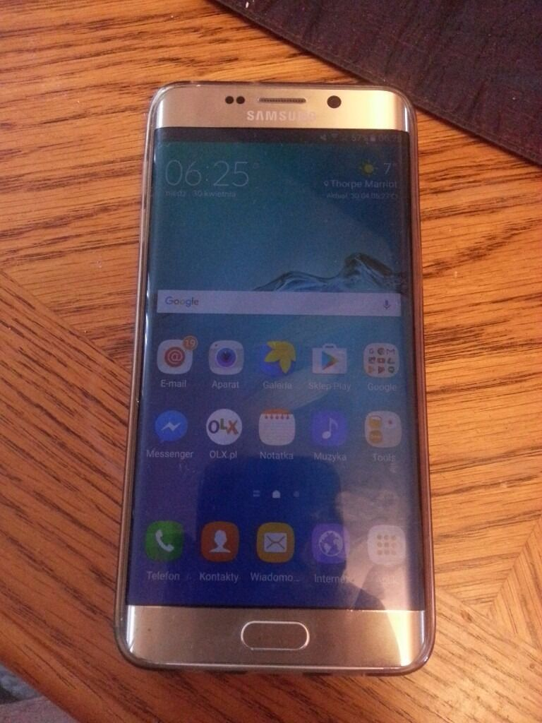samsung galaxy s6 edge plus. no simlock. vgc. gold editionin Taverham, NorfolkGumtree - samsung galaxy s6 edge plus. no simlock. vgc. gold edition. little hardly visible crack on the edge. no chips scratches etc. charger included. no swaps cash on collection