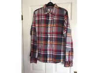 Men's Fat face checked shirt Size M
