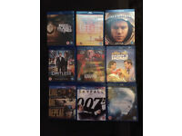 Collection of Blu Rays, all in excellent condition. See all photos (some brand new)