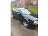 VW Golf gti 1.8 turbo 3 door black 2002