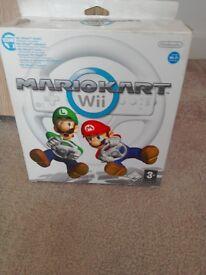 Mario Cart WII steering wheel