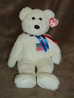 Libearty Bear (TY  Libearty Teddy  Bear, Beanie buddies Collection)