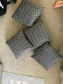 4 brand new oak furniture land cushions