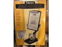 Brand new - Fellowes Weighted Base Copyholder