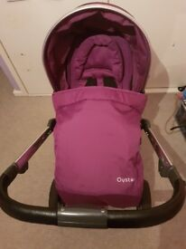 Babystyle Oyster2 Pram in Grape