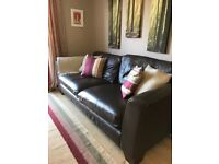 Leather 4 Seater Sofa Marks and Spencer