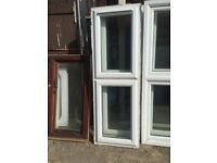 Pair of matching upvc double glazed window's