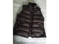 Genuine ladies North face black body warmer -£60