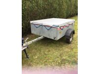 Caddy 535 trailer with cover.