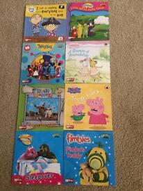 8 Kids books. Excellent condition.