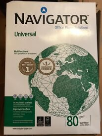 A3 printer paper Navigator premium. £7 per pack. Collection only, Heaton Mersey, Stockport.