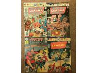 Justice League comics x4 silver age early b&b