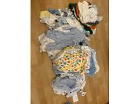 0-3 month baby clothes bundle 100+ outfits