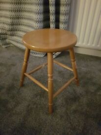 2 Good quality pine stools