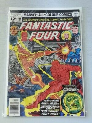FANTASTIC FOUR #189 NM (9.4) MARVEL COMICS DECEMBER 1977*