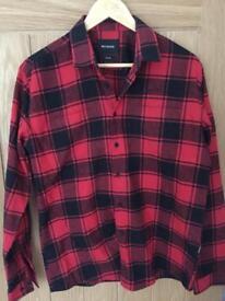 Watershed men's checked shirt-small medium