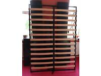 Ottoman gas lift black bed for sale