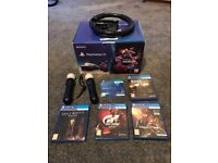 Vr console plus extra games and playstation move controllers