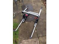 Halfords car bike rack for 3 bikes, barely used, £60 ono
