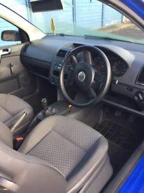 VW Polo 1.2E, 2004. Spares or repair. 91000 miles, 4 months mot.