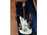 Fender Johnny Marr Jaguar - Olympic White