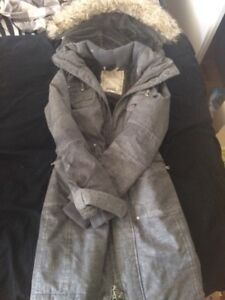 Xxs tna long grey jacket