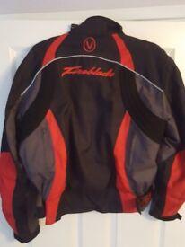 "mens honda fireblade cordura jacket 44"" as new"