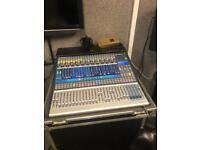 Presonus Studio Live 24.4.2 with custom Flight Case