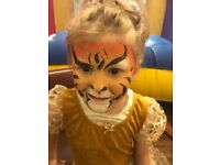 Face painter, face painting artist, Hackney