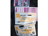Creamfields festival 3 days camping + car park