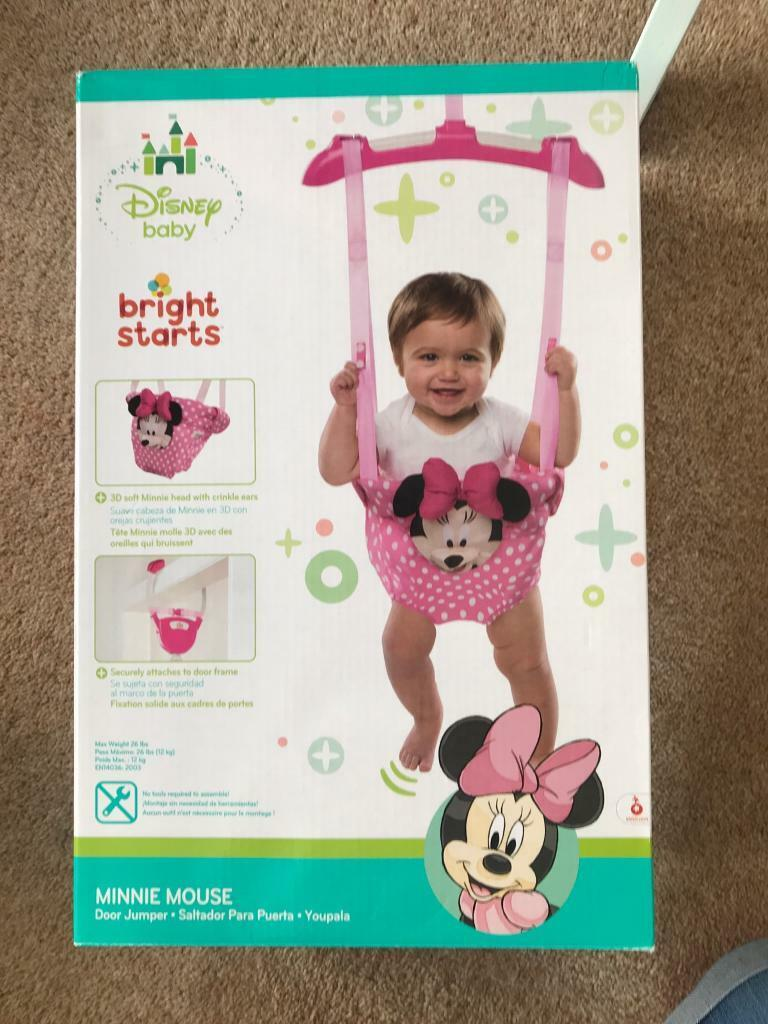 bb3a61faf187 Minnie Mouse door bouncer (NEW IN BOX)