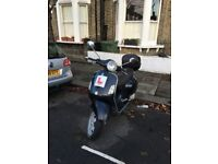 Piaggio Vespa GT 125 for sale. 2006, 23,000 miles (37,000 km). Faithful commuter