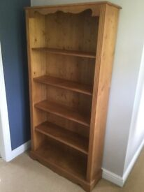 Solid Pine Bookcase