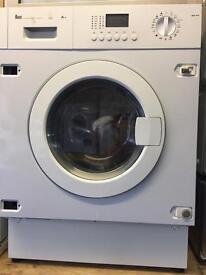 TEKA intergraded white good looking 7kg 1400spin washing machine