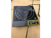 Buffalo Commercial Single Ring Induction Hob 3000w Instant Heat