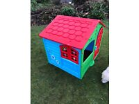 Palplay Holiday Cottage Playhouse - very good condition