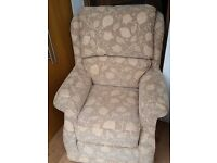 Fabric Armchair with FREE DELIVERY