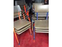 Retro child's chairs