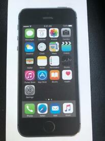 IPHONE 5S 16GB SPACE GRAY + BOX AND ACCESSORIES EXCELLENT CONDITION FULLY WORKING