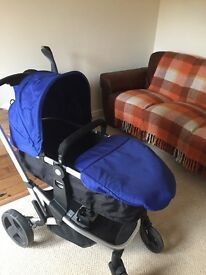Pushchair travel System xpedior blue