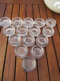 28 glass tea light holder