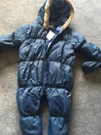 Next bnwt snow suit